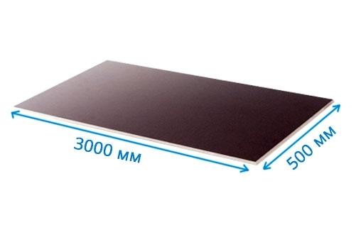 ламинированная фанера fi/fi 500х3000 18 мм